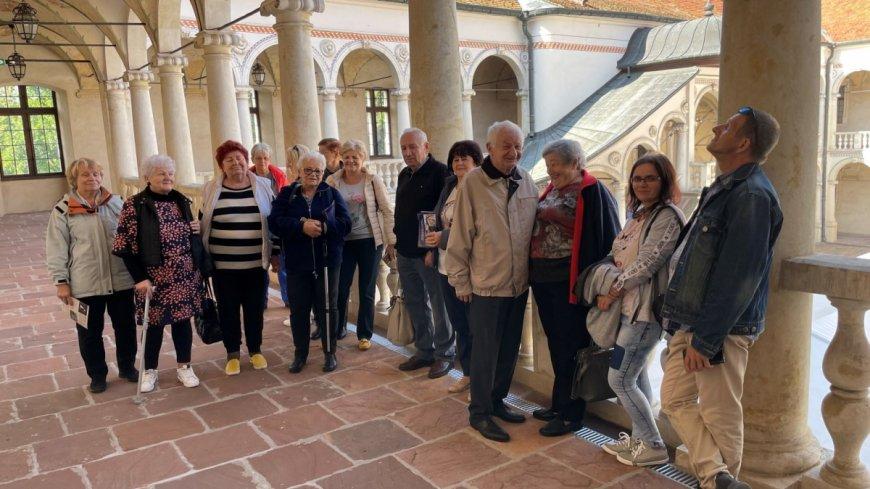 Uczestnicy Dziennego Domu Senior+ w Zwoleniu