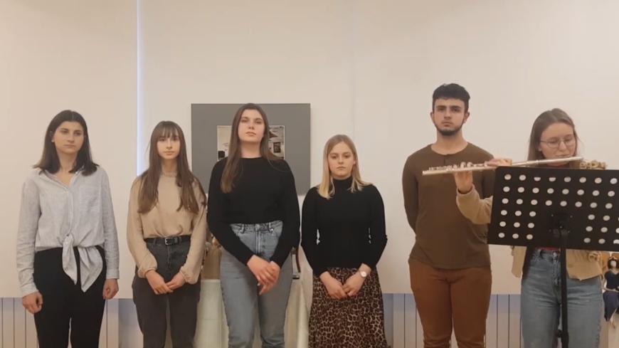 Członkowie Zespołu Wokalnego wyśpiewali wyróżnienie na Festiwalu Dźwięku Wolności Gdynia 2020