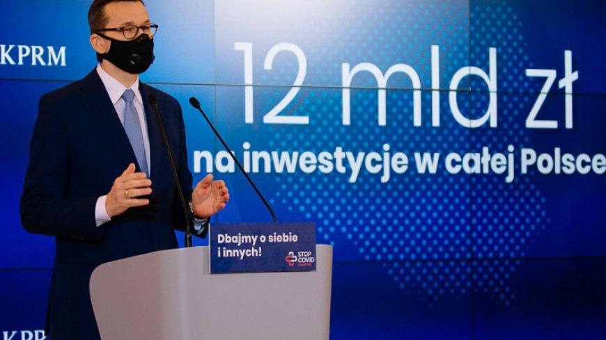 Premier Mateusz Morawiecki poinformował o podziale środków w ramach drugiego etapu Rządowego Funduszu Inwestycji Lokalnych.