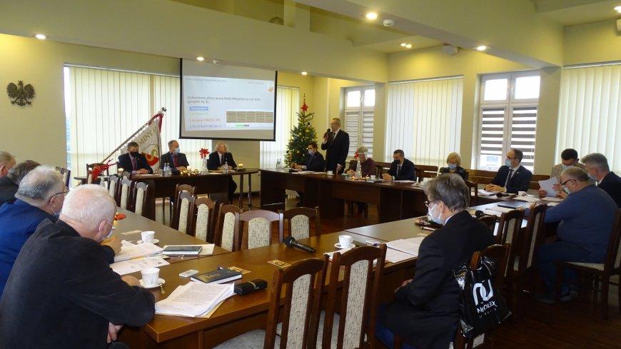 Zdjęcie z sesji budżetowej